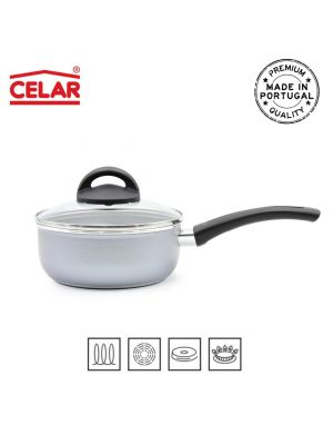 MAXIME LIGHT saucepan w/ handle and lid nº16 طنجرة بحجم