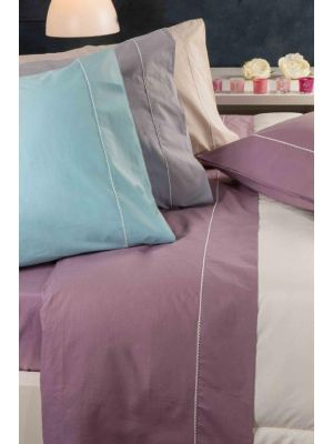 BED sheet  SOTO-color grey- single -180x290