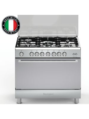 90 cm  Gas Oven with and gril  غاز ايطالي  استانستيل   90  سم