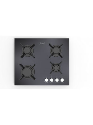 60cm Black Built-in Bompani Hob