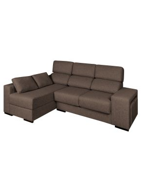 بني Nova Chaise Long Brown أريكة