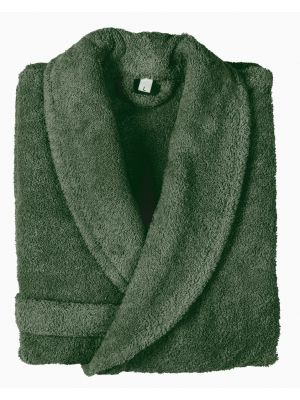 100% Original Cotton Bathrobe Size L green /روب حمام قطن أصلي 100% مقاس L  لون اخضر